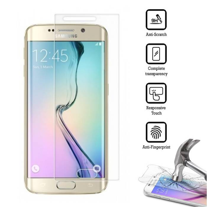 Screen Protector Samsung Galaxy S6 Edge Tempered Glass Film