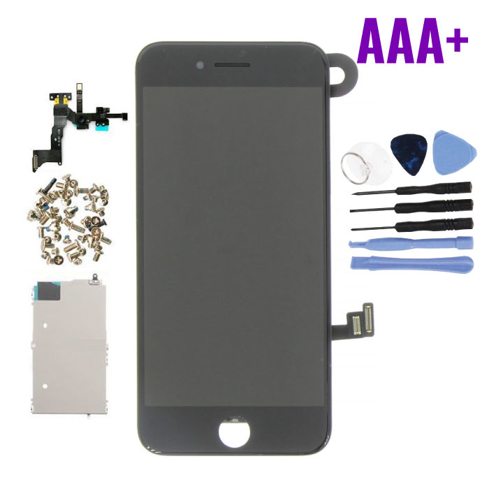 iPhone 8 Voorgemonteerd Scherm (Touchscreen + LCD + Onderdelen) AAA+ Kwaliteit - Zwart + Gereedschap