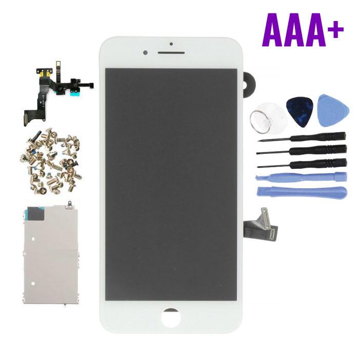 Écran pré-assemblé pour iPhone 8 Plus (Écran tactile + LCD + Pièces) Qualité AAA + - Blanc + Outils