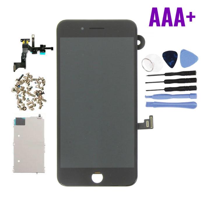 cran pr'-assembl' pour iPhone 8 Plus (cran tactile + LCD + PiŠces) Qualit' AAA + - Noir + Outils