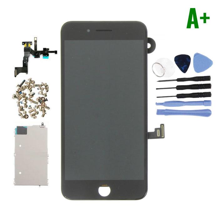 Ecran pré-assemblé pour iPhone 8 Plus (Écran tactile + LCD + Pièces) A + Qualité - Noir + Outils