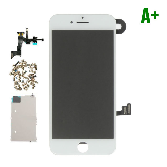 iPhone 8 Pre-assembled Screen (Touchscreen + LCD + Parts) A + Quality - White