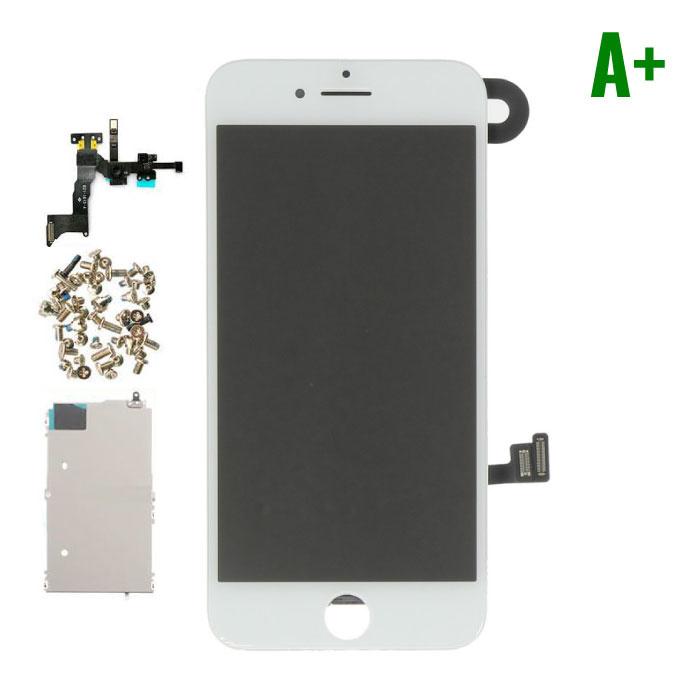 iPhone 8 Voorgemonteerd Scherm (Touchscreen + LCD + Onderdelen) A+ Kwaliteit - Wit