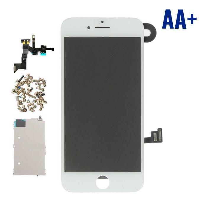 iPhone 8 Voorgemonteerd Scherm (Touchscreen + LCD + Onderdelen) AA+ Kwaliteit - Wit