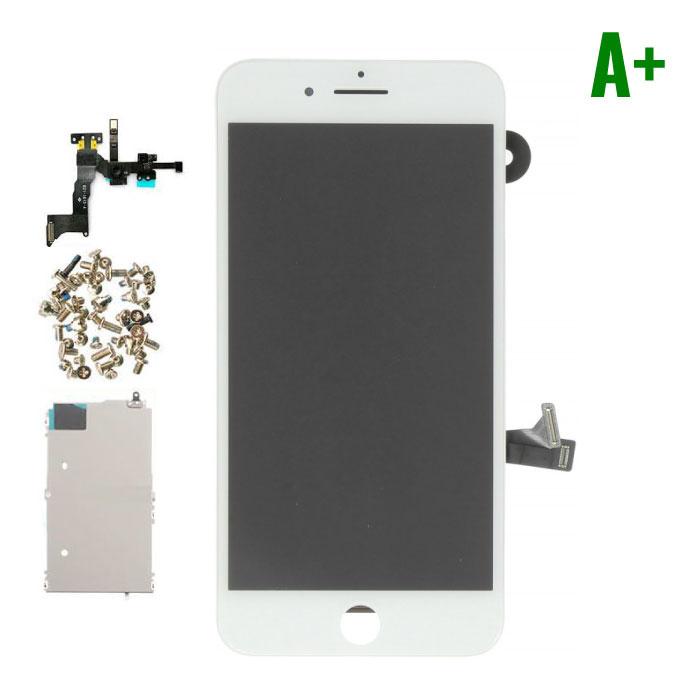 iPhone 8 Plus Voorgemonteerd Scherm (Touchscreen + LCD + Onderdelen) A+ Kwaliteit - Wit