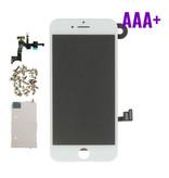 Stuff Certified ® Écran pré-assemblé pour iPhone 8 (Écran tactile + LCD + Pièces) Qualité AAA + - Blanc