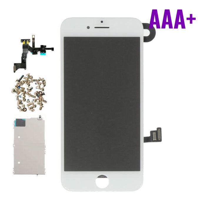 iPhone 8 Voorgemonteerd Scherm (Touchscreen + LCD + Onderdelen) AAA+ Kwaliteit - Wit