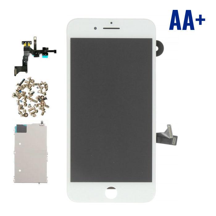 iPhone 8 Plus Voorgemonteerd Scherm (Touchscreen + LCD + Onderdelen) AA+ Kwaliteit - Wit