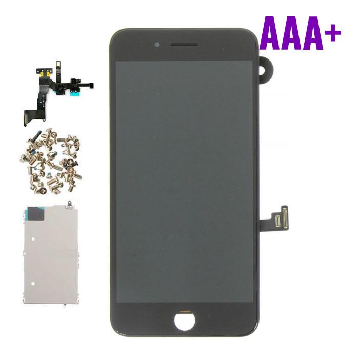 Stuff Certified ® Écran pré-assemblé pour iPhone 8 Plus (Écran tactile + LCD + Pièces) Qualité AAA + - Noir