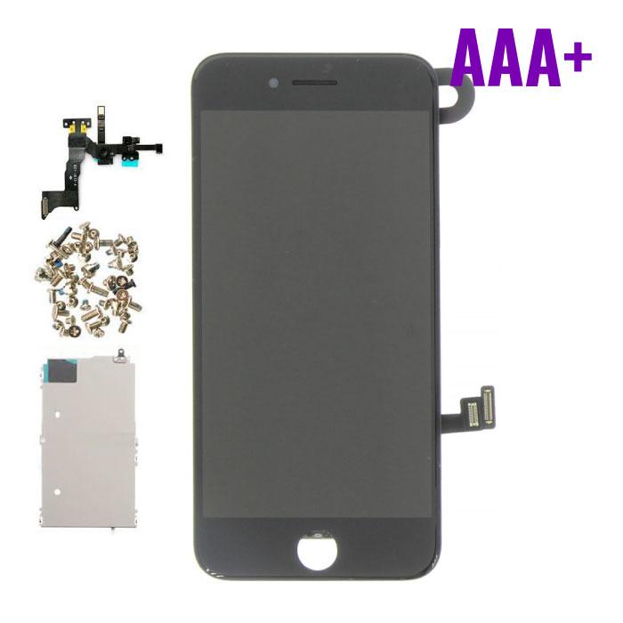 Stuff Certified® Écran pré-assemblé pour iPhone 8 (écran tactile + LCD + pièces) Qualité AAA + - Noir