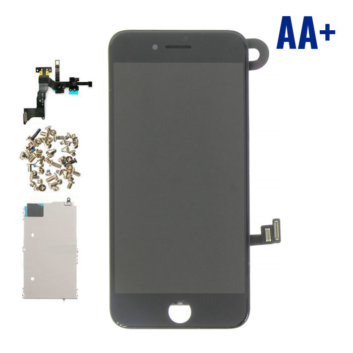 iPhone 8 Pre-assembled Screen (Touchscreen + LCD + Parts) AA + Quality - Black