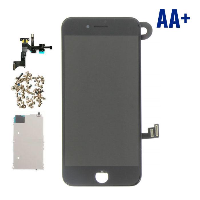 iPhone 8 Voorgemonteerd Scherm (Touchscreen + LCD + Onderdelen) AA+ Kwaliteit - Zwart