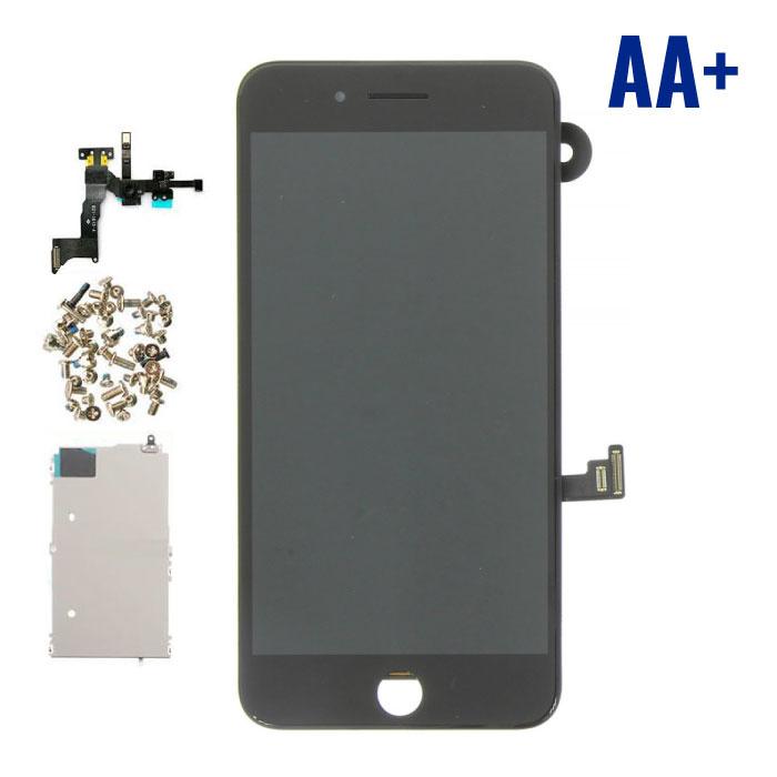 Écran pré-assemblé pour iPhone 8 Plus (Écran tactile + LCD + Pièces) AA + Qualité - Noir