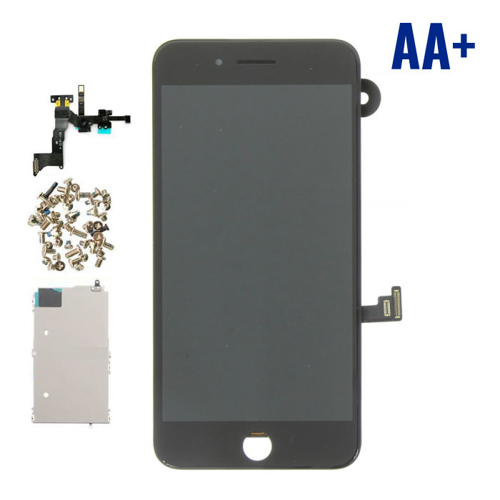 iPhone 8 Plus Pre-assembled Screen (Touchscreen + LCD + Parts) AA + Quality - Black