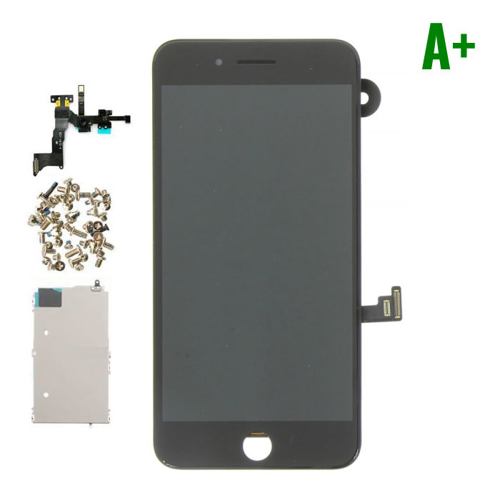 iPhone 8 Plus Pre-assembled Screen (Touchscreen + LCD + Parts) A + Quality - Black
