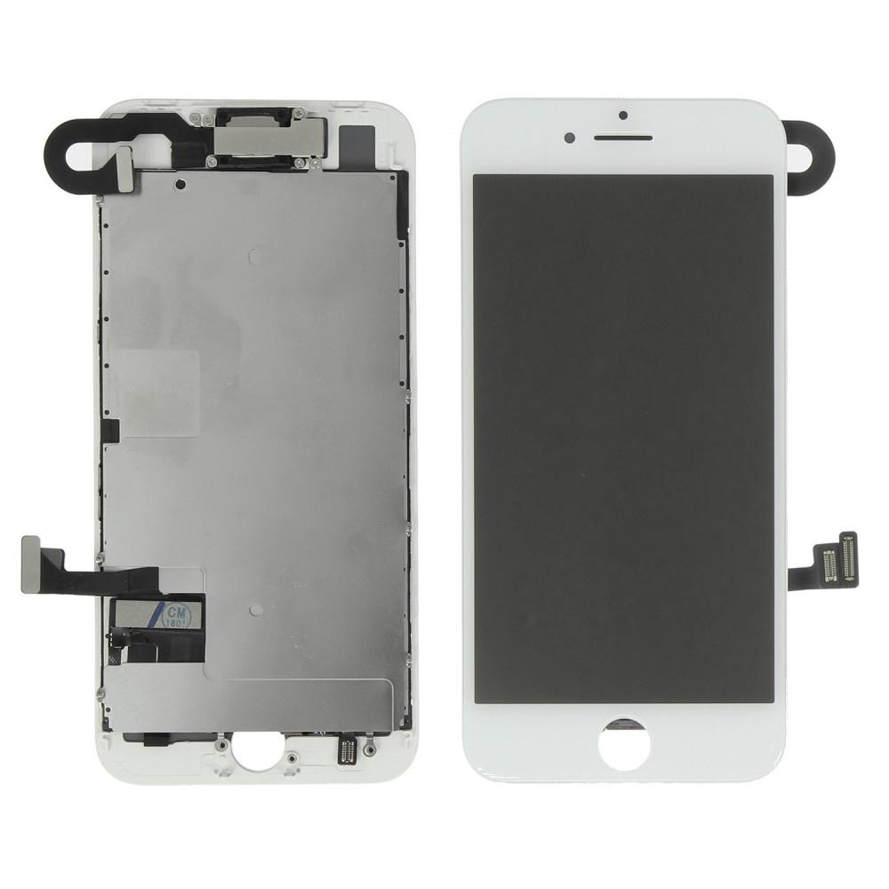 Stuff Certified® Écran pré-assemblé pour iPhone 8 (écran tactile + LCD + pièces) AA + Qualité - Blanc