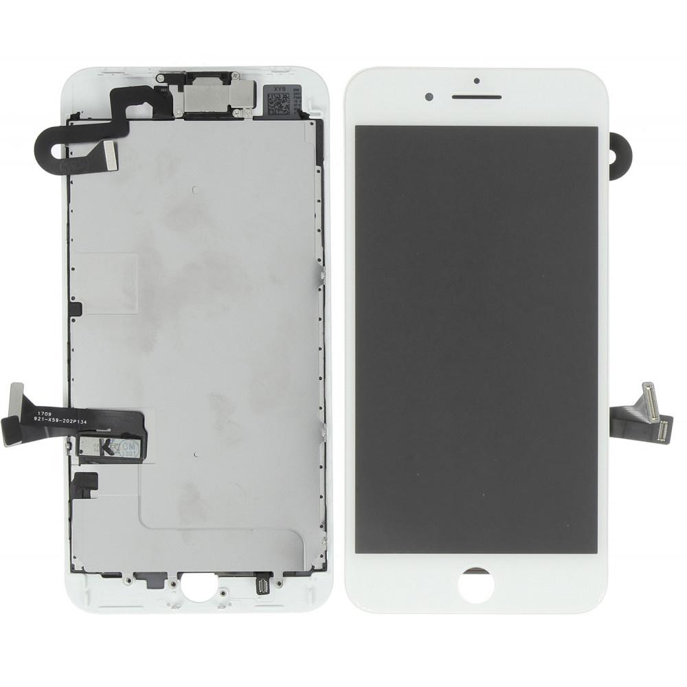 Stuff Certified ® Écran pré-assemblé pour iPhone 8 Plus (Écran tactile + LCD + Pièces) Qualité A + - Blanc