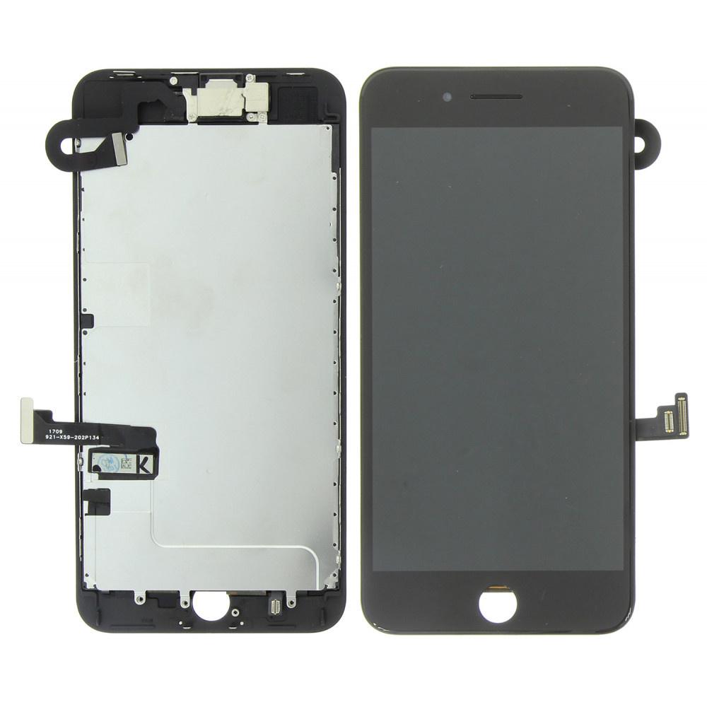 Stuff Certified ® Écran pré-assemblé pour iPhone 8 Plus (Écran tactile + LCD + Pièces) Qualité A + - Noir