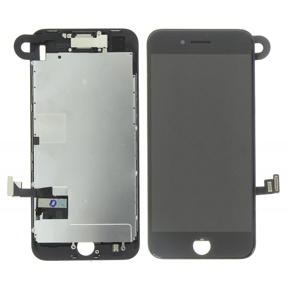 Stuff Certified ® iPhone 8 Voorgemonteerd Scherm (Touchscreen + LCD + Onderdelen) A+ Kwaliteit - Zwart