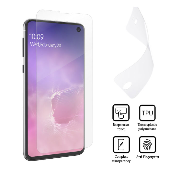 Film de protection PET en film d'aluminium pour Samsung Galaxy S10 Lite