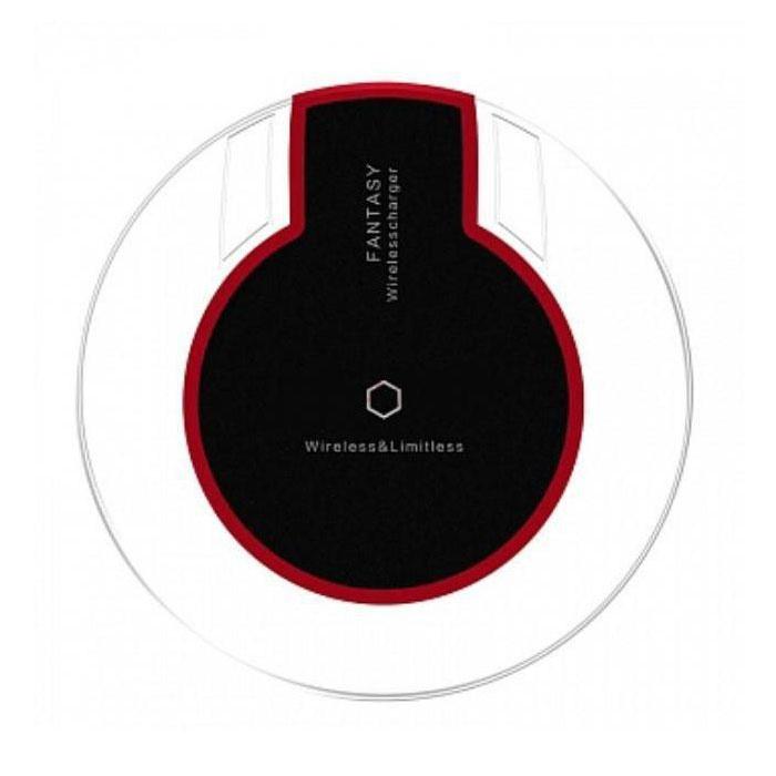Stuff Certified ® Qi Fantasy Universal Chargeur 5V - 1.5A sans fil Charging Pad Noir
