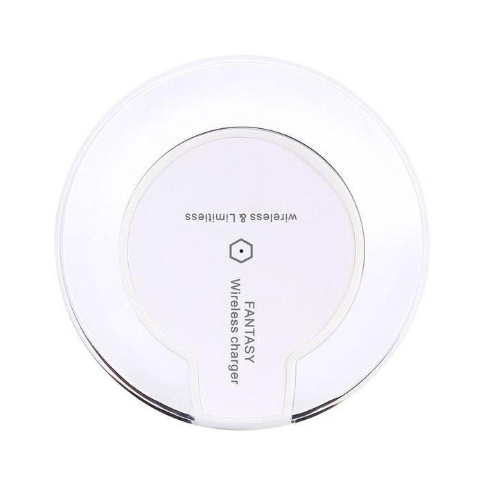 Stuff Certified ® Tapis de charge sans fil pour chargeur 5V - 1.5A sans fil universel Qi Fantasy, blanc