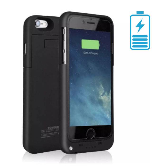 iPhone 8 3200mAh Powercase Powerbank Oplader Cover Case Hoesje