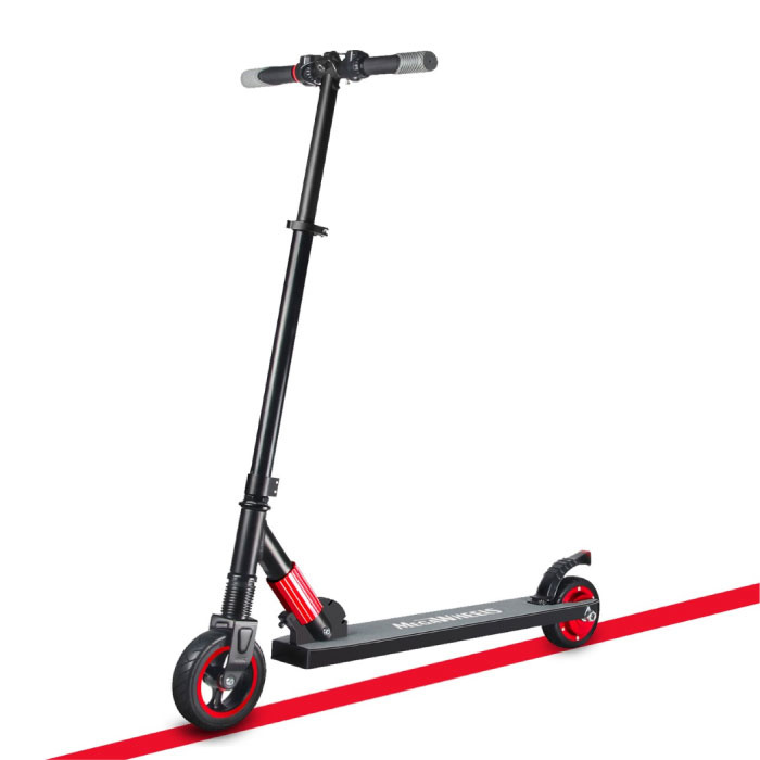 MegaWheels Electric Smart E Step Scooter - 250W - 4.0 Ah Battery - Red