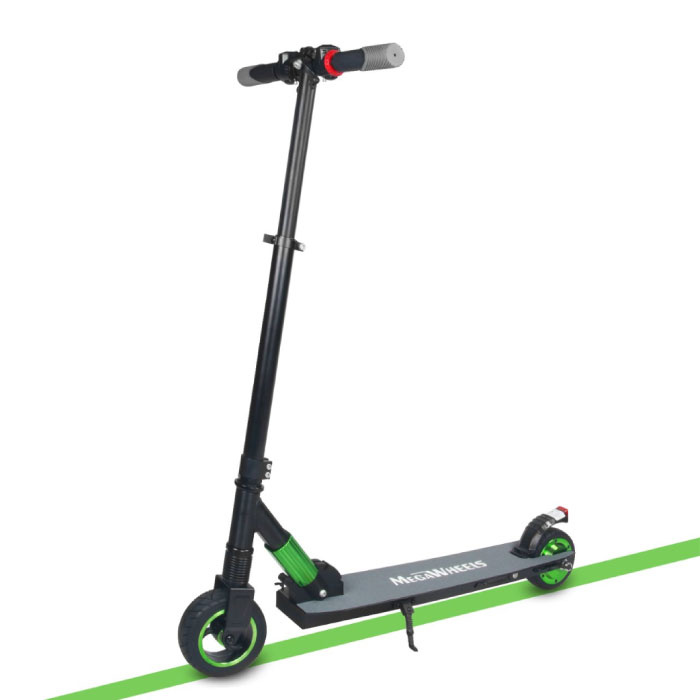Electric Smart E Step Scooter - 250W - 4.0 Ah Battery - Green