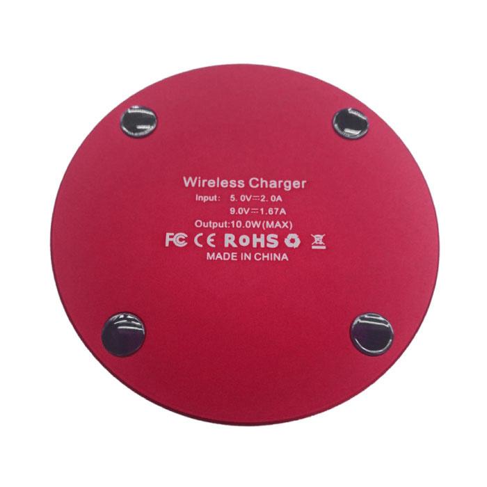 Jetjoy Qi Universal Wireless Charger 5V - 2.1A Pad de charge sans fil noir - Copy - Copy