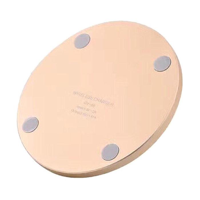 Stuff Certified ® Qi Universal Wireless Charger 5V - 2.1A Pad de charge sans fil noir - Copy - Copy - Copy