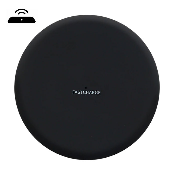 Y001 Qi Universele Draadloze Oplader 9V - 1.67A Wireless Charging Pad Zwart