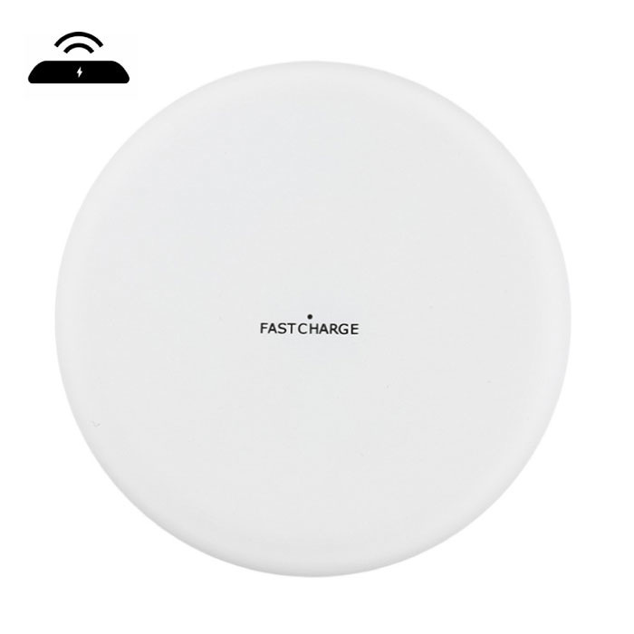 Y001 Qi Universele Draadloze Oplader 9V - 1.67A Wireless Charging Pad Wit