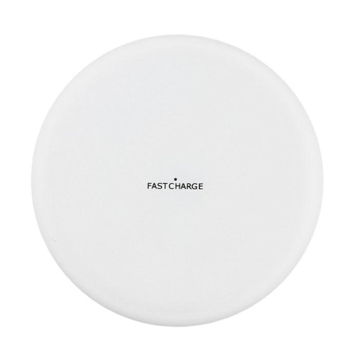 Sans fil Qi Y001 chargeur universel 9V - 1.67A de charge sans fil Pad blanc