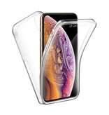 Stuff Certified® iPhone XS Max Full Body 360 Transparent TPU silicone + PET Screen Protector