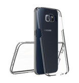 Stuff Certified® Samsung Galaxy S9 plus Full Body 360 Transparent TPU silicone + PET Screen Protector