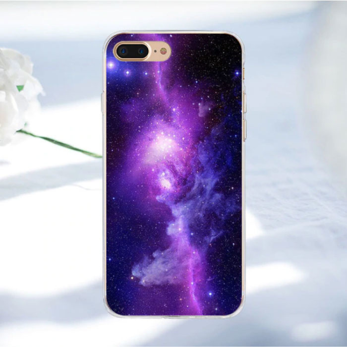 Stuff Certified ® Samsung Galaxy J5 2016 - Space Star Case Cover Cas Soft TPU Case