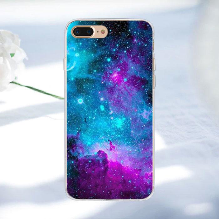 Stuff Certified ® Samsung Galaxy A3 2016 - Space Star Case Cover Cas Soft TPU Case
