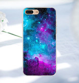 Stuff Certified ® Samsung Galaxy A3 2017 - Space Star Case Cover Cas Soft TPU Case