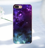 Stuff Certified ® iPhone SE - Etui Space Star Housse Cas Soft TPU