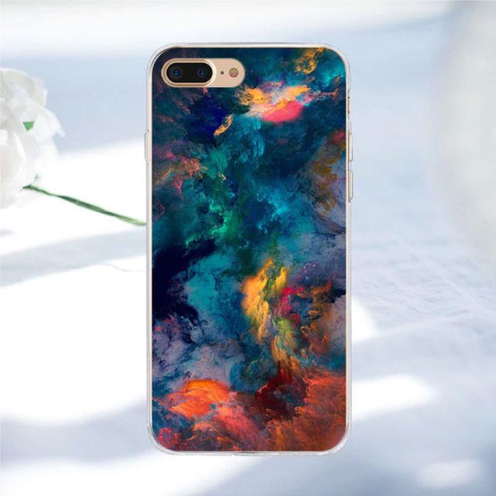 Stuff Certified ® iPhone SE - Space Star Case Cover Cas Soft TPU Case