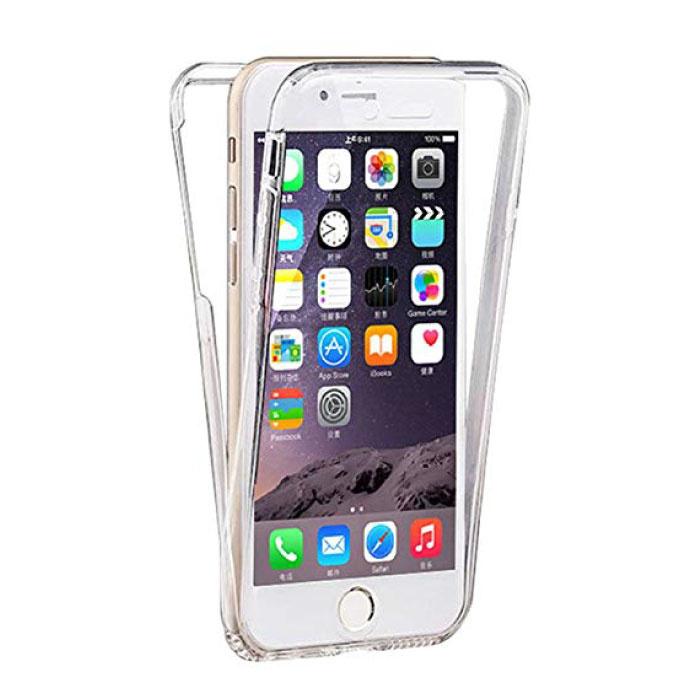 Stuff Certified ® iPhone 6S Full Body 360 ° Transparent TPU Silicone Case + PET Screen Protector