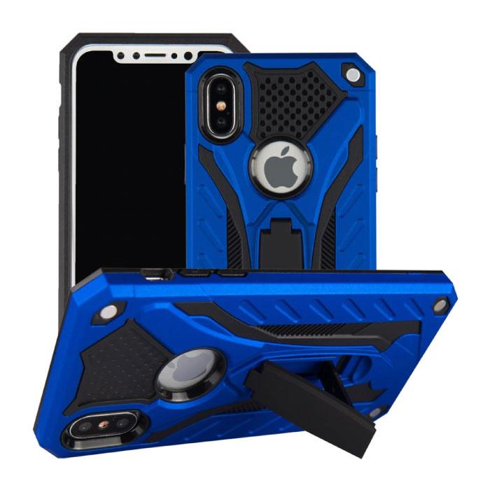 Stuff Certified ® iPhone 6 Plus - Military Armor Case Cover Cas TPU Case Black + Kickstand