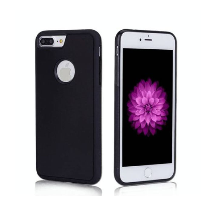 iPhone 7 - Coque Absorption Anti Gravity Etui Cas Noir