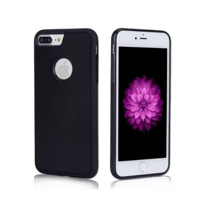 iPhone 7 Plus - Anti-Schwerkraft-Absorptionshülle Abdeckung Hülle Schwarz