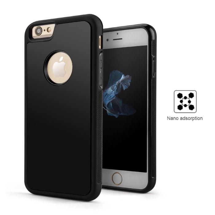 iPhone 8 Plus - Anti Gravity Absorption Case Cover Cas Hoesje Zwart
