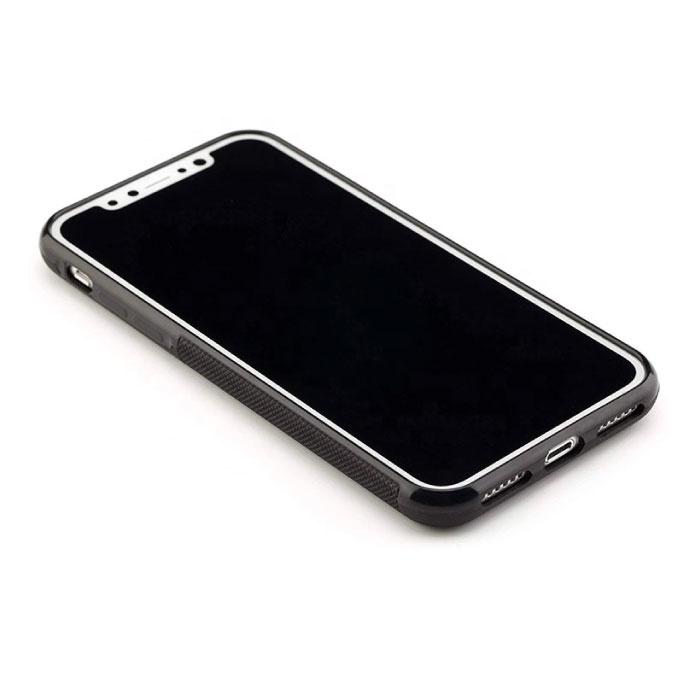 Stuff Certified ® iPhone XS - Coque Absorption Anti Gravity Etui Cas Noir