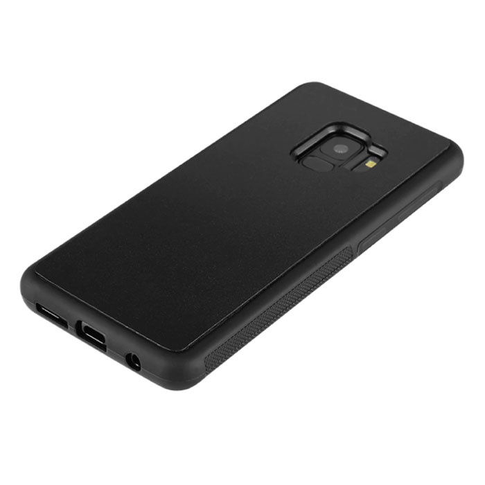 Stuff Certified ® Samsung Galaxy S10 Plus - Anti Gravity Absorption Case Cover Cas Hoesje Zwart