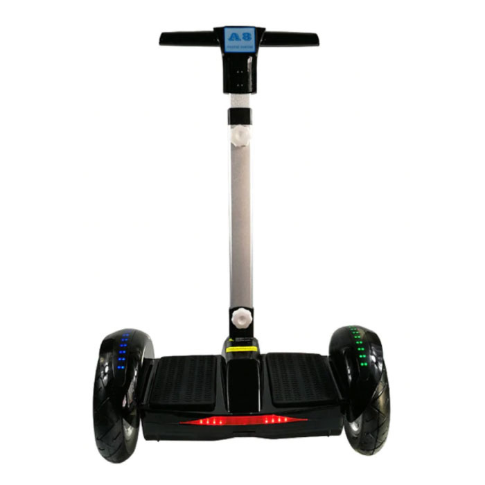 """Hoverboard électrique pour scooter électrique avec poignée - 10,5"""" - 350 W - Batterie Samsung de 4,4 Ah - Noir"""
