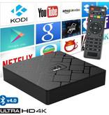 Stuff Certified ® Lecteur multimédia KK Mini HK1 pour téléviseurs 4K Android - 2 Go de RAM - Stockage de 16 Go
